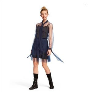 [Rodarte] Tulle Skirt and Blouse Set